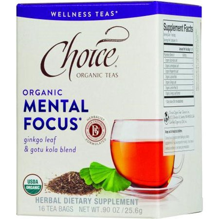 Choice Organic Teas - Thé Mental Focus Bio - 16 Sacs