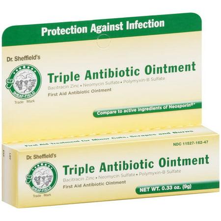 Dr  Sheffield's Triple Antibiotic Ointment, 0 33 oz