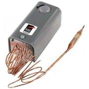 Johnson Controls A19AAA-49 -30-100 DegF Temp Control, -30-100 Degrees F, 6ft. Open LoSPST, 6ft Open LoSPST