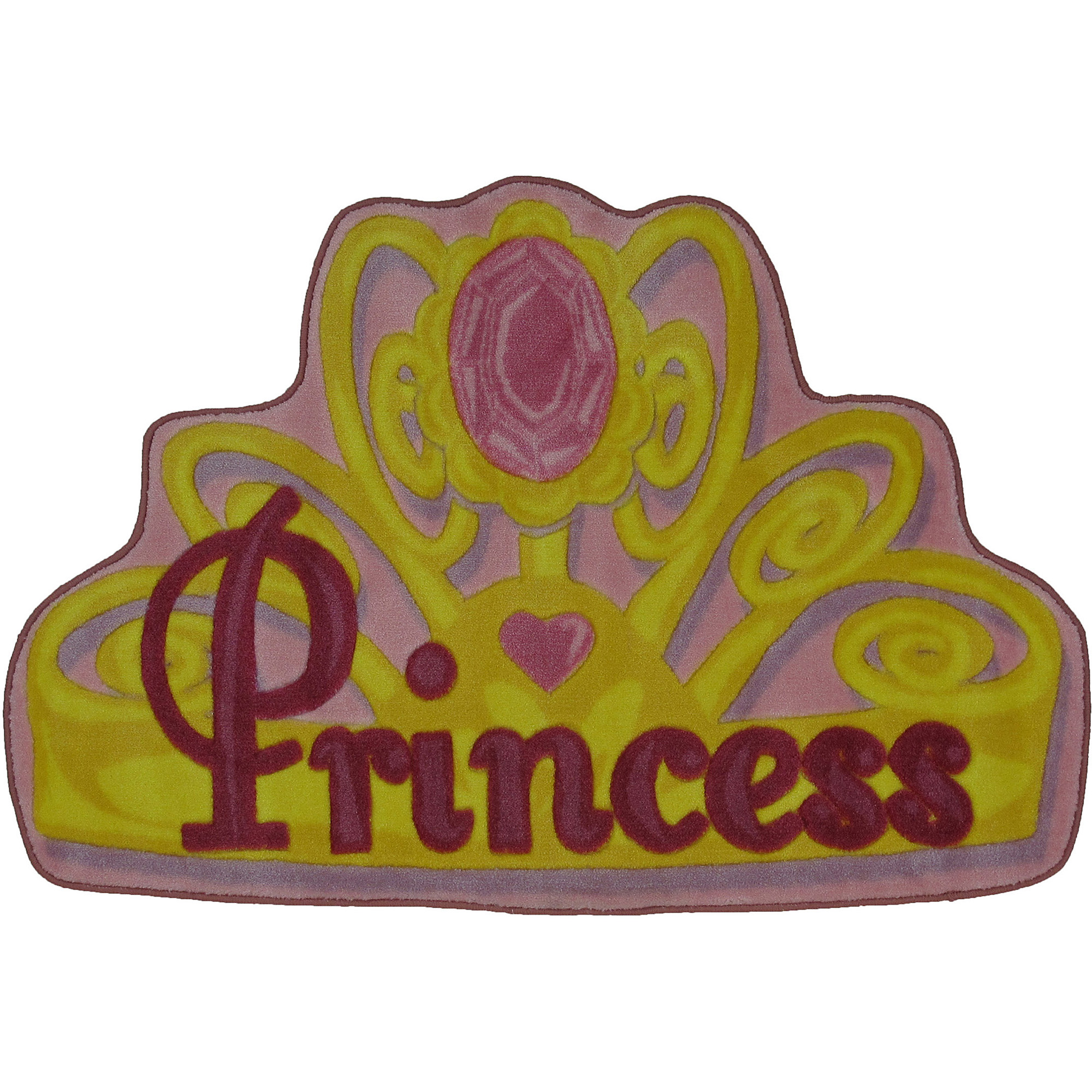 "Fun Rugs Pretty Princess 31"" x 47"" Rug"