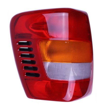 Left Tail Light with Circuit Board - Fits 1999-2004 Jeep Grand Cherokee - (2005 Jeep Grand Cherokee Check Engine Light)