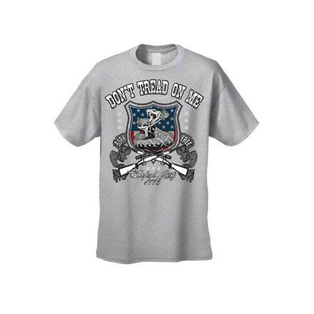 Liberty State Tee - Men's T Shirt USA Flag Don't Tread on me Defend Liberty Tee