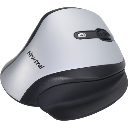 Ergoguys Ergonomic Newtral Medium Mouse Wireless- Silver/Black KOV-N200SWM