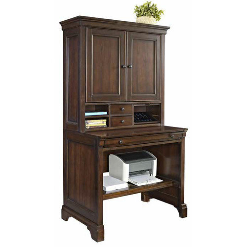 Fairfax Home Collections Belcourt Armoire Desk with Hutch