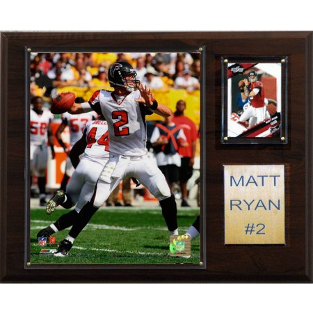 C Collectables Nfl 12X15 Matt Ryan Atlanta Falcons Player Plaque