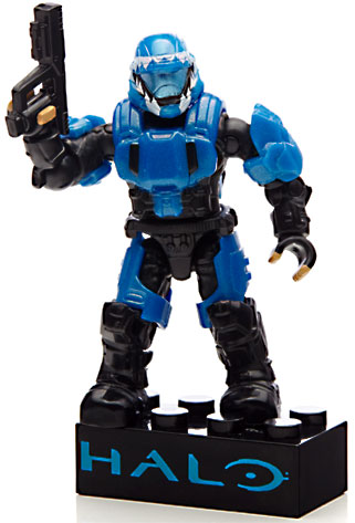 Halo Metallic ODST Drop Pod Set Mega Bloks 97354 by Mega Bloks
