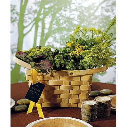 Decorative Picnic Basket - Large