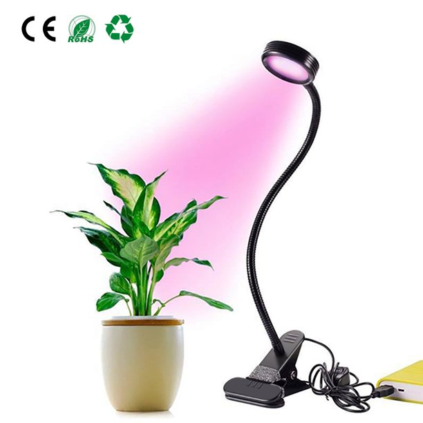 LED Plant Grow Lights, Dual Lamp 18W Greenhouse Gooseneck LED Grow Light for Indoor & Outdoor Plants,Hydroponic Garden,Greenhouses