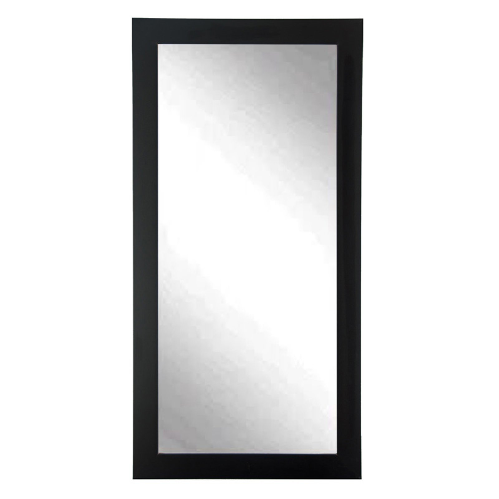 white leaning floor mirror. BrandtWorks Designers Choice Leaning Floor Mirror - Matte Black White R