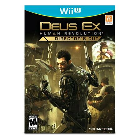 Image of Deus Ex: Human Revolution - Director's Cut (Nintendo Wii U)