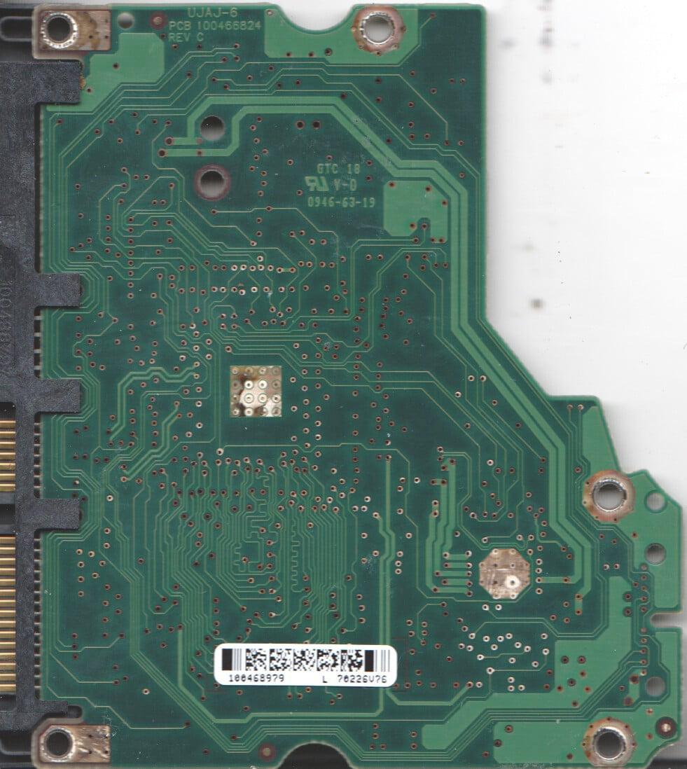 ST3750330AS, 9BX156-501, SD15, 100468979 L, Seagate SATA 3.5 PCB