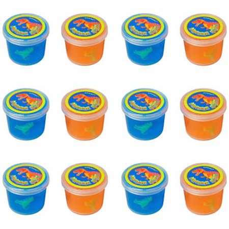 Dinosaur 'Prehistoric Party' Ooze Putty / Favors - Dinosaur Party Games