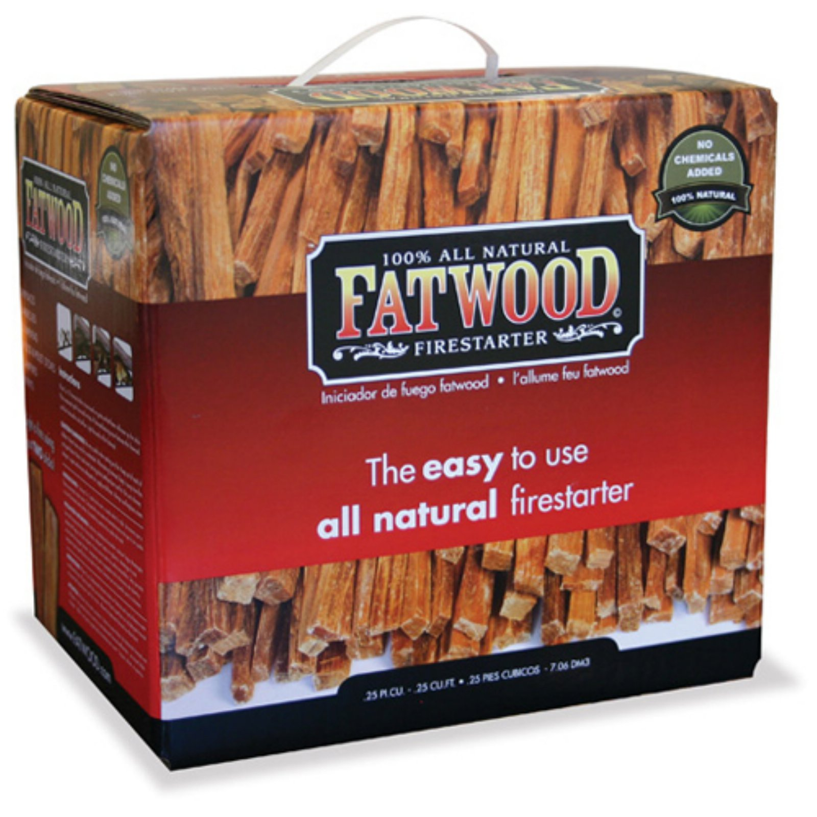 Blue Rhino 15 lb Fatwood in Plain Carton