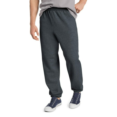 (Men's EcoSmart Elastic Bottom 32 Inch Inseam Sweatpants)