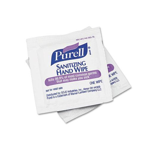Sanitizing Hand Wipes, 5 x 7, 1000/Carton 902210CT