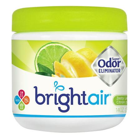 BRIGHT Air Super Odor Eliminator, Zesty Lemon and Lime, 14 oz