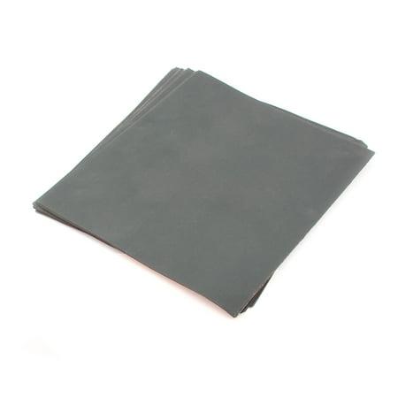 Unique Bargains 25 Pcs 28cmx23cm Wet Dry Waterproof Silicon Carbide Sandpaper Sheets 2000 - Grit Waterproof Paper Sheets