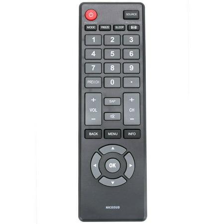 Emerson 52 Remote (New NH305UD Replaced Remote Control compatible with Emerson TV LF501EM4F LF501EM5 LF501EM5F LF501EM6F )