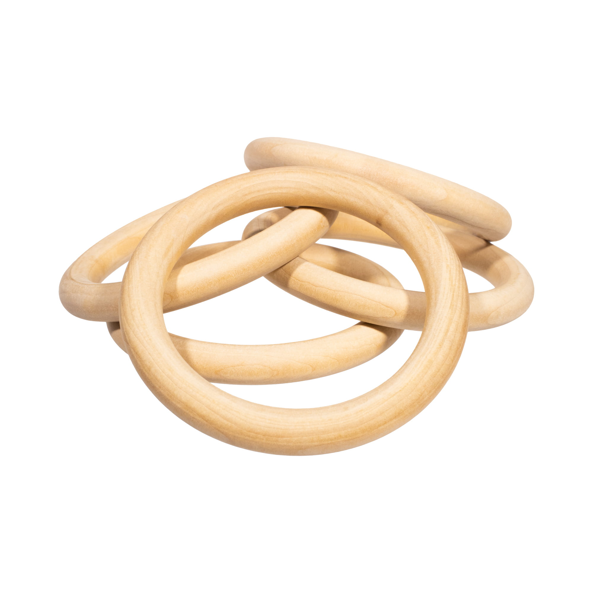 Craft County Unfinished Natural Wood Rings In Multiple Sizes Packs For Diy Crafts Projects Jewelry Making Macrame Wall Hanging Napkin Ring Wooden Toy And More Walmart Com Walmart Com