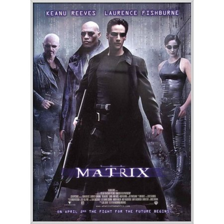 The Matrix - Framed Movie Poster / Print (Regular Style ...