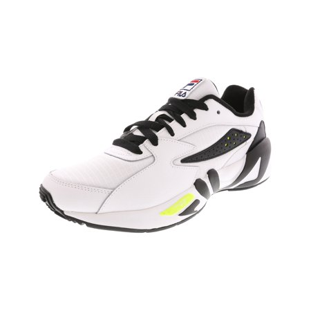 Fila Men?s Mindblower SLV Athletic Style Casual Sneaker - 10M - White / Black / Soft Yellow ()