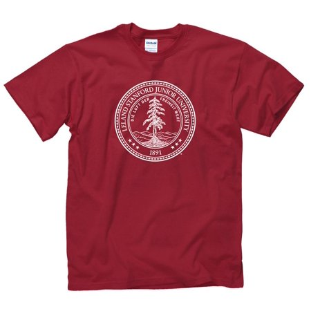 Stanford University T-shirt - Stanford University Seal Men's T-Shirt-Cardinal