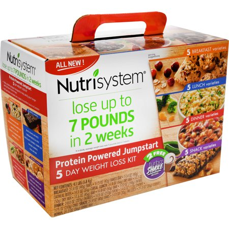 Nutrisystem Protein Powered Jumpstart 5 Day Weight Loss Kit