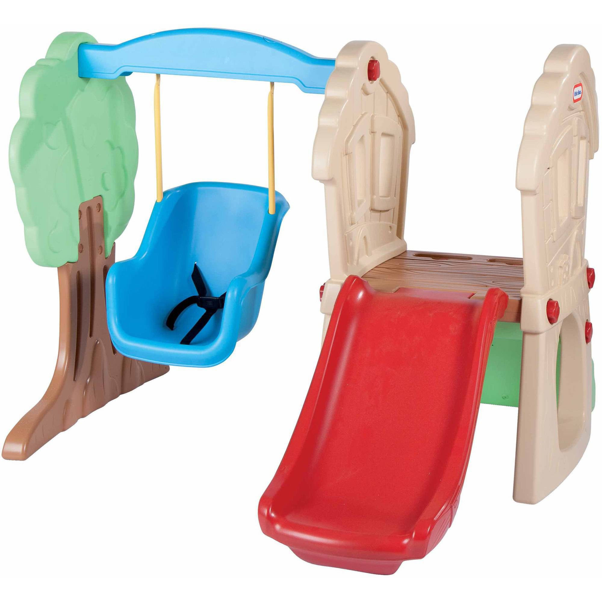 Outdoor baby swing - Little Tikes Hide Seek Climber And Swing