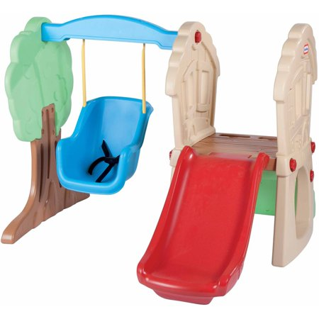 Little tikes hide seek climber and swing for Little tikes outdoor playset