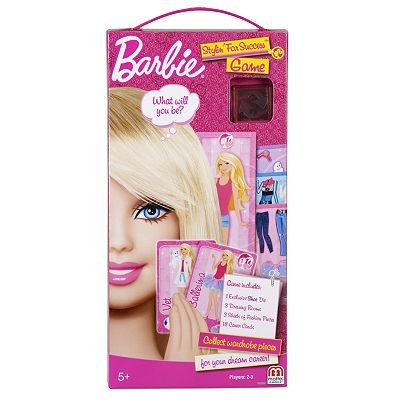 Barbie Stylin' For Success Game by Mattel toy gift idea birthday by Barbie Stylin' For Success Game by Mattel toy gift