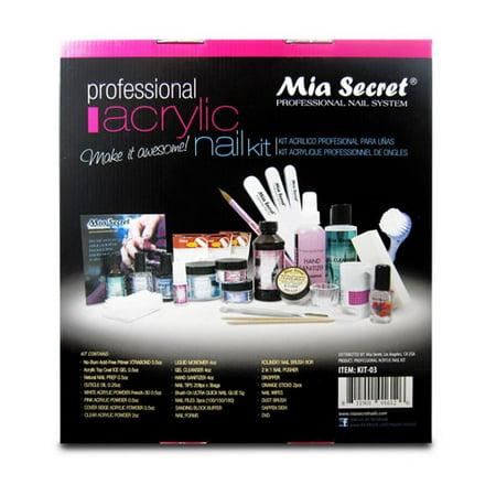 Professional Halloween Nails (Mia Secret Professional Acrylic Nail Kit)