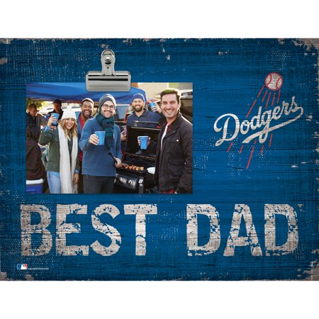 Los Angeles Dodgers 8'' x 10.5'' Best Dad Clip Frame - No