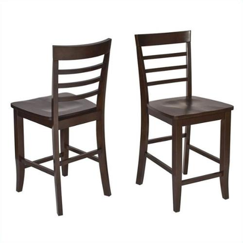 OSP Designs Jamestown 24.5'' Bar Stool (Set of 2)