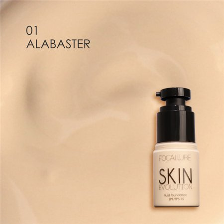 WALFRONT 8 Types FOCALLURE Base Cream Face Whitening Moisturizer Concealer Camouflage Liquid Foundation, Base Cream, Foundation