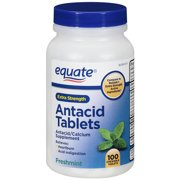 Equate Extra Strength Freshmint Antacid Chewable Tablets, 100ct