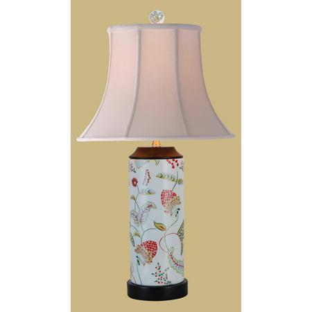 - East Enterprises LPHLF1011F Vase Table Lamp - White