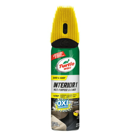 Turtle Wax Interior 1 Multi-Purpose Cleaner and Stain Remover, 18oz