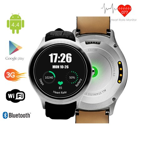 Indigi  Android 4 4 Kitkat Smartwatch And Phone  3G Factory Unlocked    Wifi   Built In Camera   Google Maps