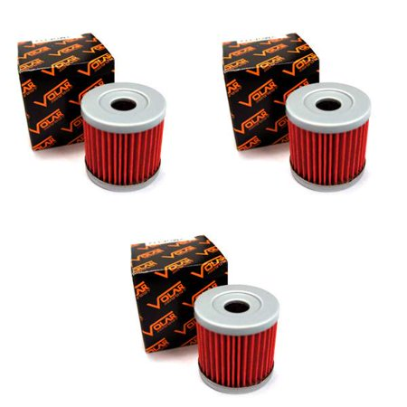 2005-2018 Suzuki DRZ400SM Oil Filter - (3 pieces)