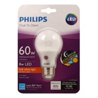 Philips A19 Medium Dusk To Dawn LED Light Bulb