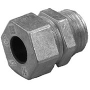 Halex 96913 0.5 in. Straight Cord Grip Connector Pack of 8