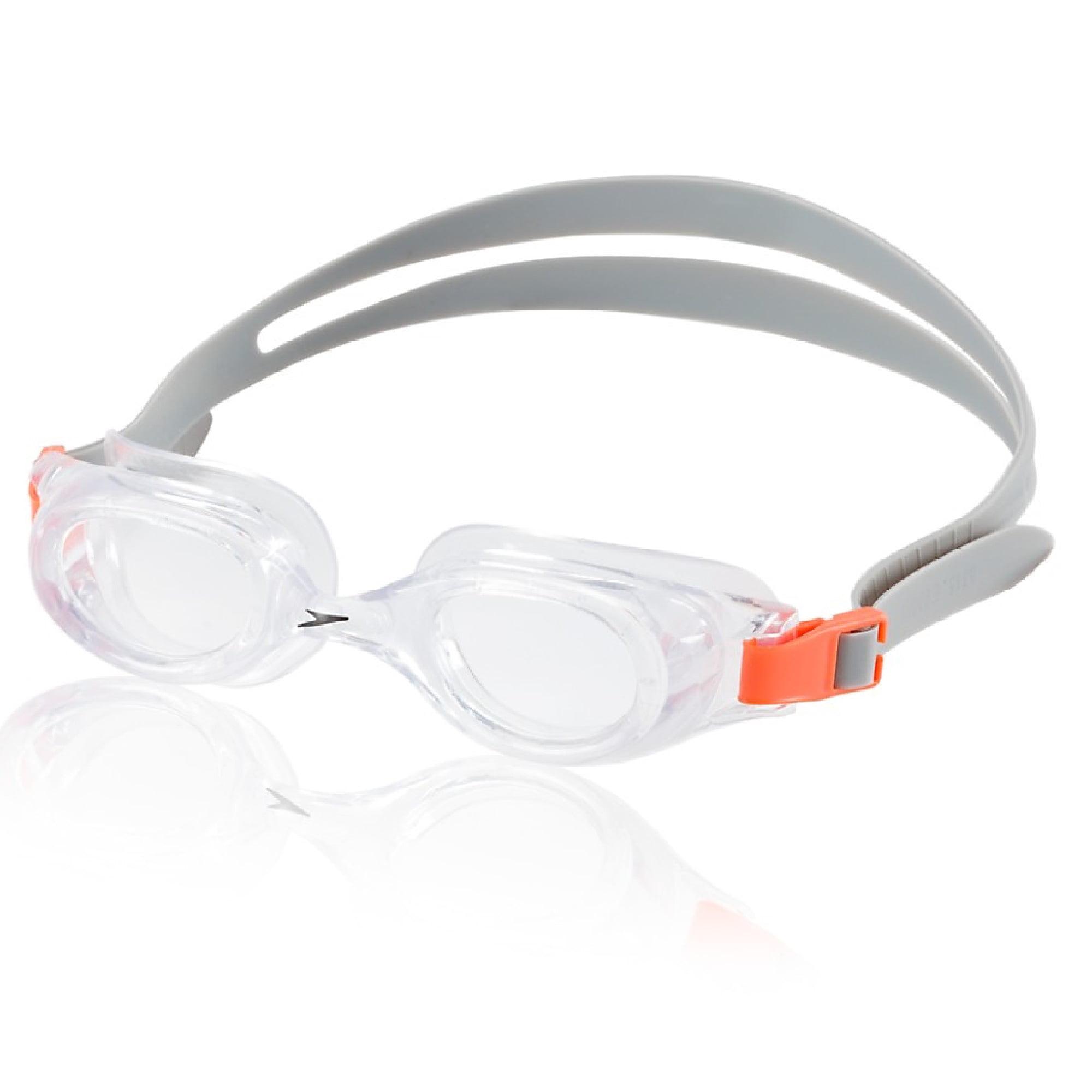 Speedo Jr. Hydrospex Classic Swim Swimming Anti-Fog Goggles, Silver Ice One Size by Speedo