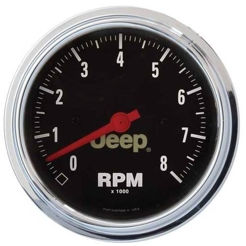 AUTO METER 880246 JEEP 3-3/8IN 8K RPM TACHOMETER