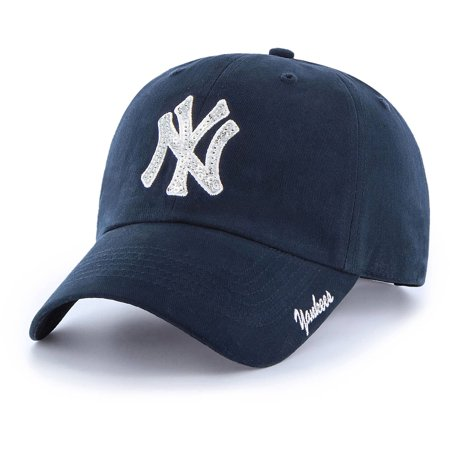 MLB New York Yankees Sparkle Women's Adjustable Cap/Hat by Fan Favorite
