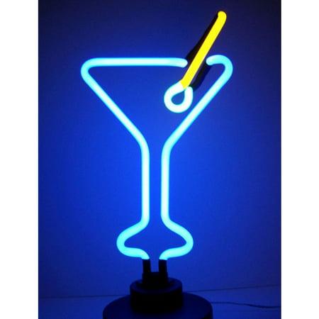 - Martini Glass Neon Sculpture
