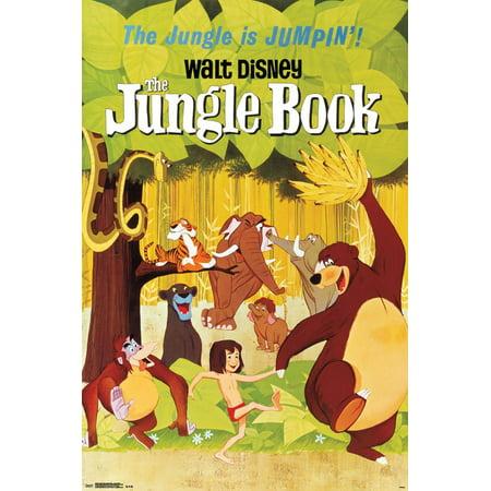 Walt Disney: The Jungle Book- One Sheet Poster - 24x36 ()