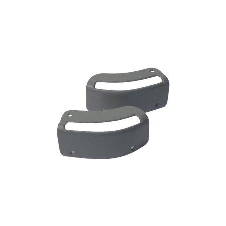 MACs Auto Parts  44369904 Mustang Convertible Seat Belt Bezels