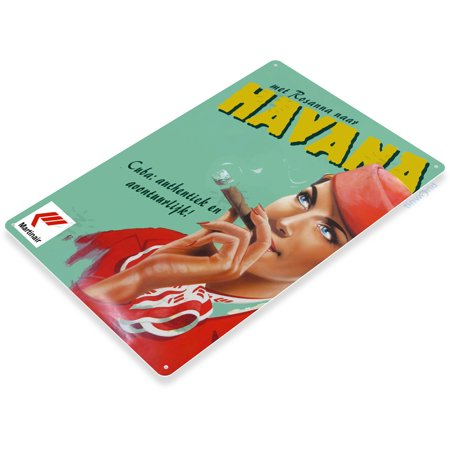 TIN SIGN Martinair Cuban Cigar Havana Tobacco Smoke Shop Bar Sign A119