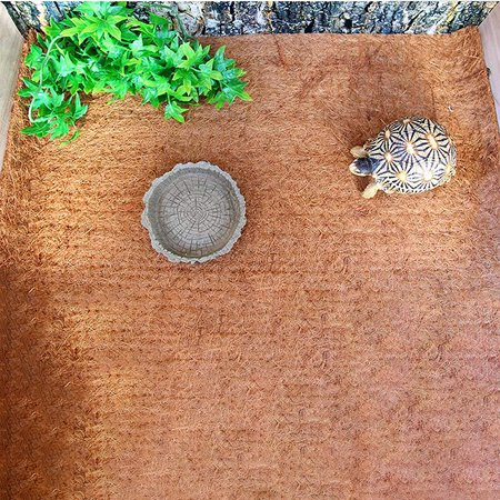 Wood Snake - Soft Wood Reptile Cushion Mat Pad for Tortoise Lizard Snake Spider Pet Supplies