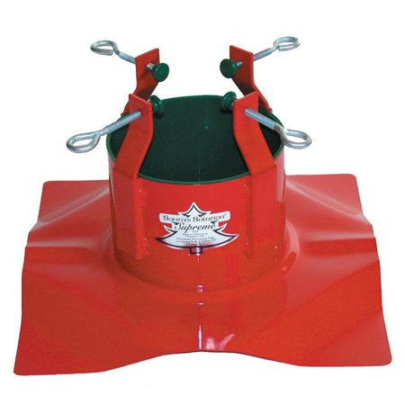 Christmas Mountains 9095878 10 ft. Steel Red Christmas Tree Stand - image 1 of 1